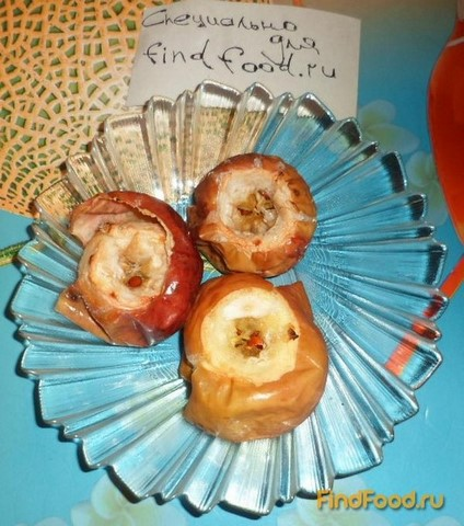 Яблоки запеченные с сахаром рецепт с фото 3-го шага