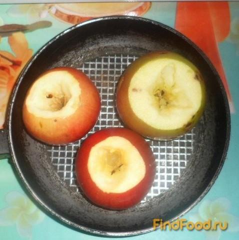 Яблоки запеченные с сахаром рецепт с фото 1-го шага