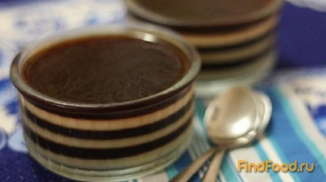 Молочно-кофейное желе рецепт с фото 5-го шага