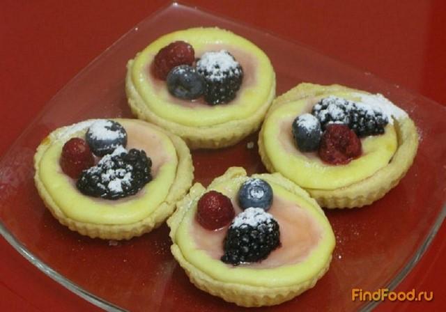 Творожные корзиночки с ягодами рецепт с фото 5-го шага