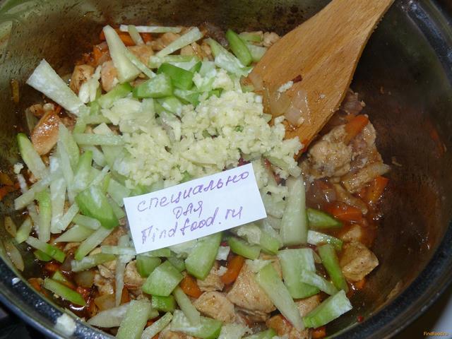 Лагман с курицей рецепт с фото 4-го шага
