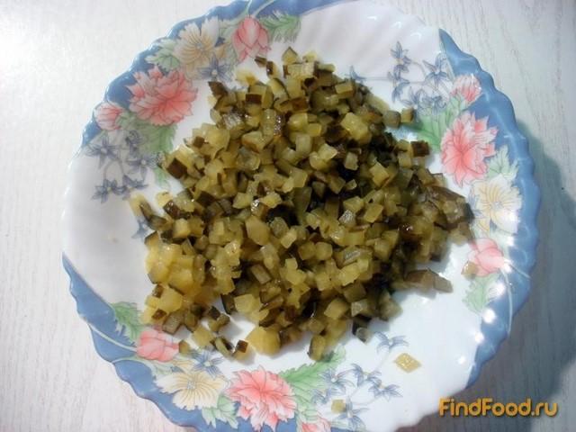 Винегрет с капустой и огурцами рецепт с фото 1-го шага