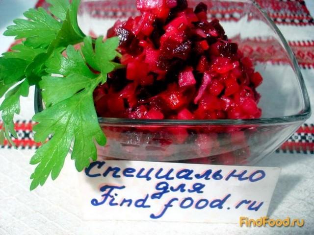 Винегрет с капустой и огурцами рецепт с фото 11-го шага