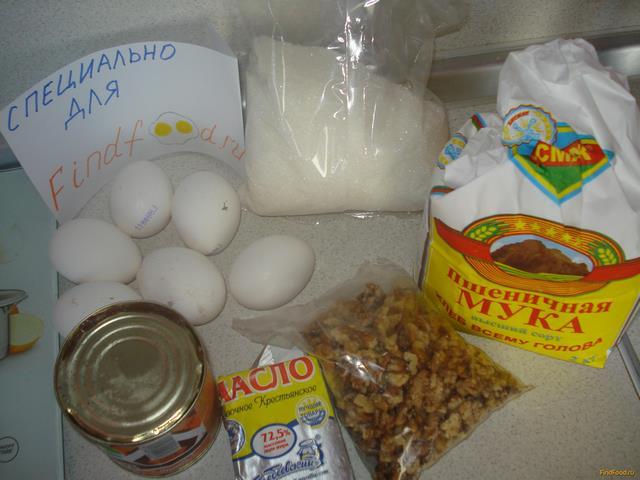 Торт Анастасия рецепт с фото 1-го шага