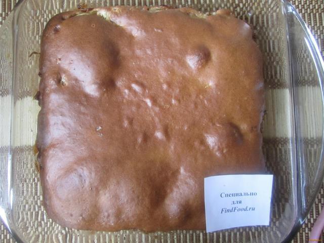 Рыбный пирог на жидком тесте рецепт с фото 10-го шага
