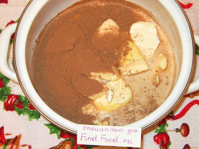 Шоколадные кексы на молоке рецепт с фото 1-го шага