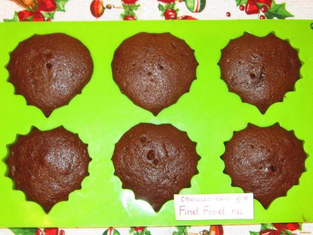 Шоколадные кексы на молоке рецепт с фото 7-го шага