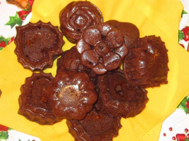 Шоколадные кексы на молоке рецепт с фото 8-го шага