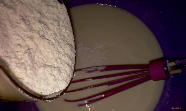 Оладьи воздушные на ряженке рецепт с фото 3-го шага