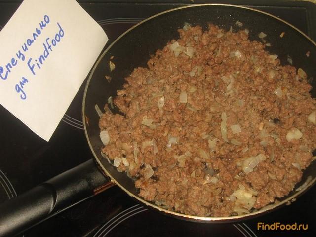 Пирог на кефире с мясным фаршем рецепт с фото 5-го шага