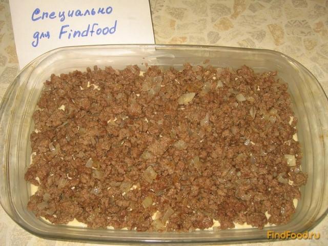 Пирог на кефире с мясным фаршем рецепт с фото 6-го шага