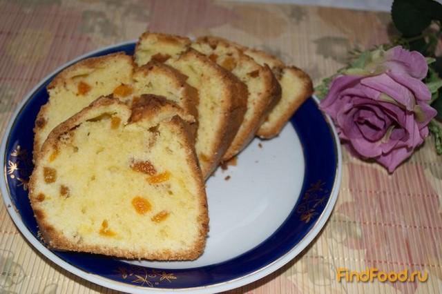 Простой кекс с курагой рецепт с фото 6-го шага