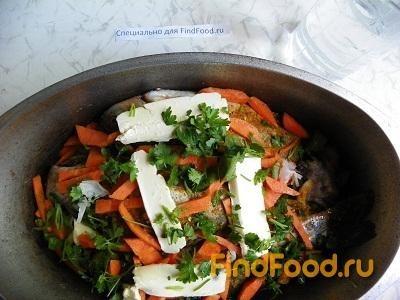 Тушеная рыба с луком и морковью рецепт с фото 14-го шага
