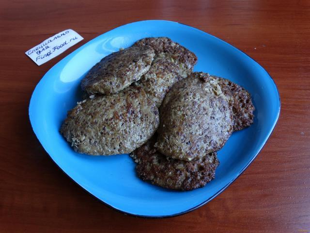 Печеночно-картофельные оладьи рецепт с фото 8-го шага