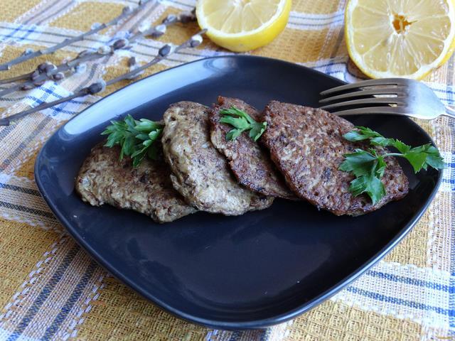 Печеночно-картофельные оладьи рецепт с фото 9-го шага