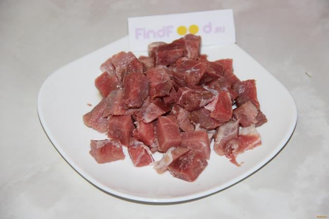 Гречка по - купечески с мясом и грибами рецепт с фото 2-го шага