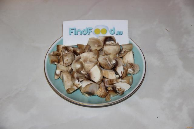 Гречка по - купечески с мясом и грибами рецепт с фото 5-го шага