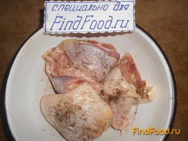 Запеканка из макарон с куриными окорочками рецепт с фото 2-го шага