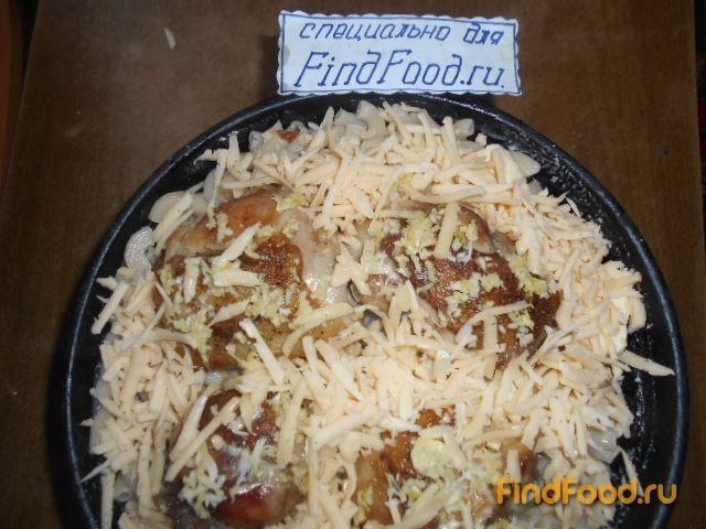 Запеканка из макарон с куриными окорочками рецепт с фото 9-го шага