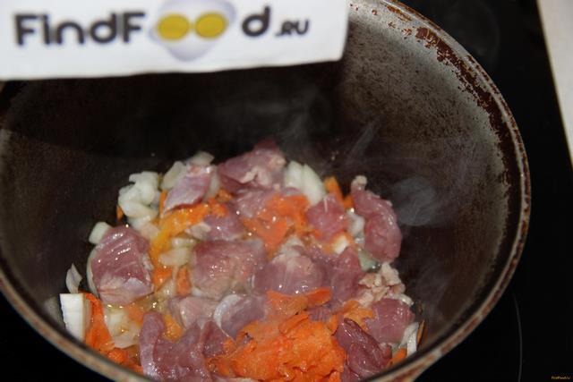 Индейка тушеная с картофелем рецепт с фото 7-го шага