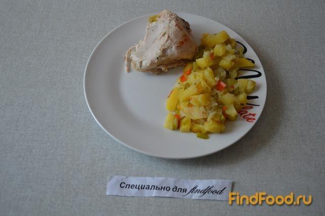 Куриные ножки и крылышки в рукаве рецепт с фото 9-го шага