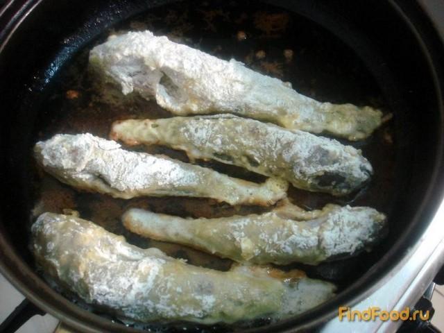 Бычки жареные рецепт с фото 7-го шага