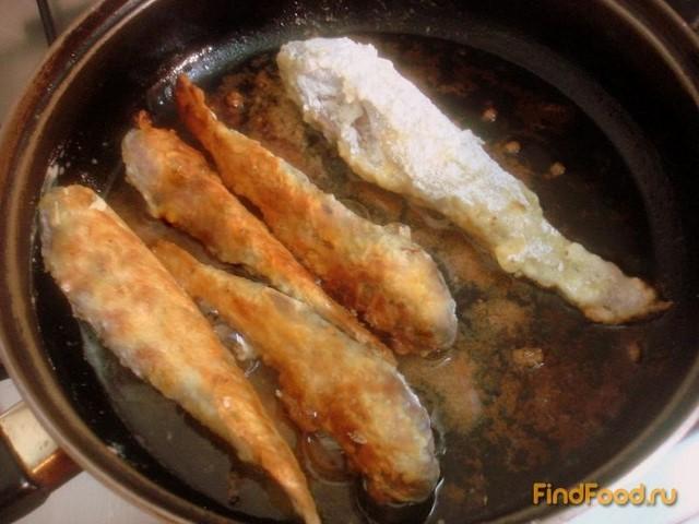 Бычки жареные рецепт с фото 8-го шага