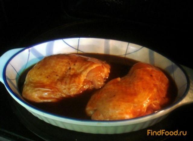 Куриные бёдра в соево-томатном соусе рецепт с фото 8-го шага
