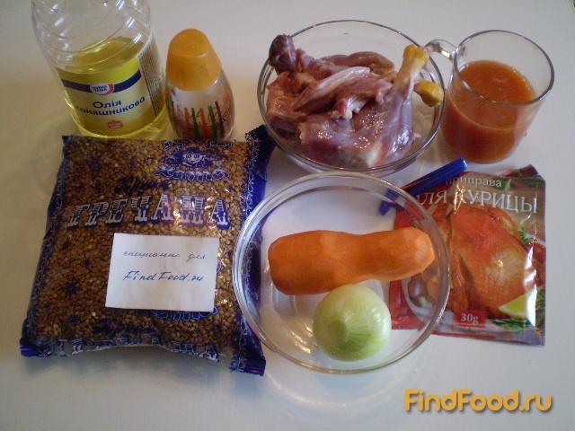 Каша гречневая с мясом утки рецепт с фото 1-го шага