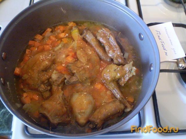Каша гречневая с мясом утки рецепт с фото 7-го шага