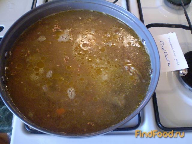 Каша гречневая с мясом утки рецепт с фото 9-го шага
