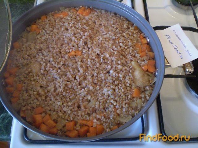 Каша гречневая с мясом утки рецепт с фото 10-го шага