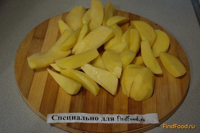 Запеченый молодой картофель в белке рецепт с фото 1-го шага