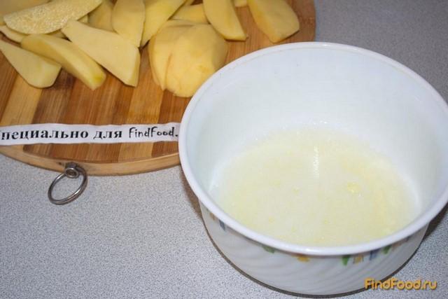Запеченый молодой картофель в белке рецепт с фото 2-го шага