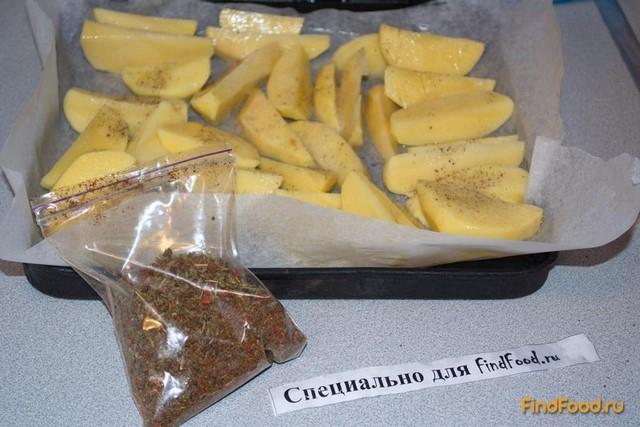 Запеченый молодой картофель в белке рецепт с фото 3-го шага