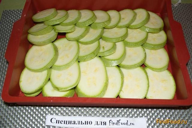 Запеченные кабачки со сметаной и специями рецепт с фото 2-го шага
