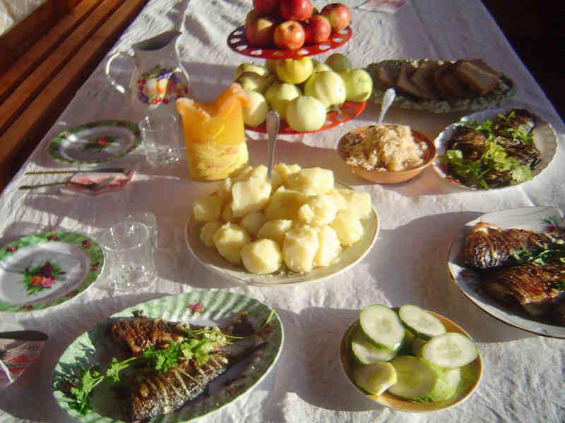 Рецепты блюд из рыбы с калорийностью