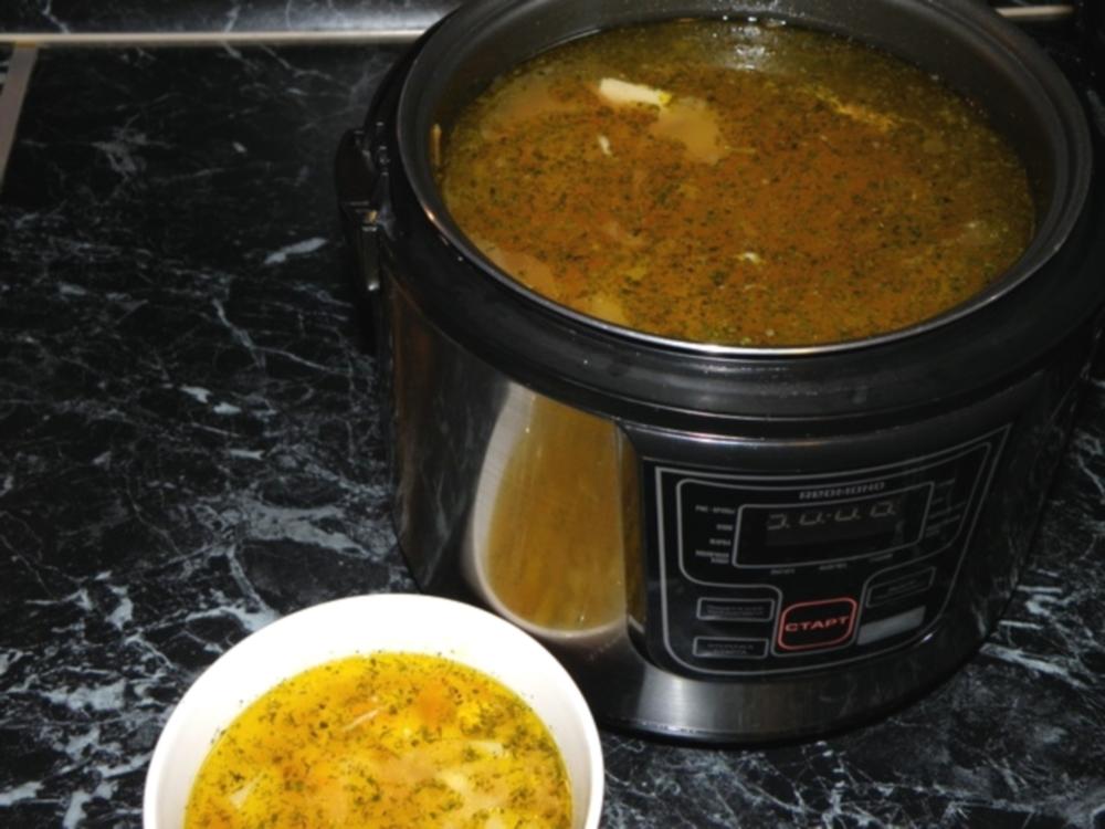 Как сварить суп в мультиварке из курицы