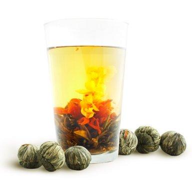 Связанный чай фото