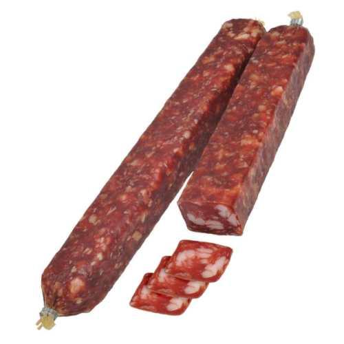 Сыровяленая колбаса фото