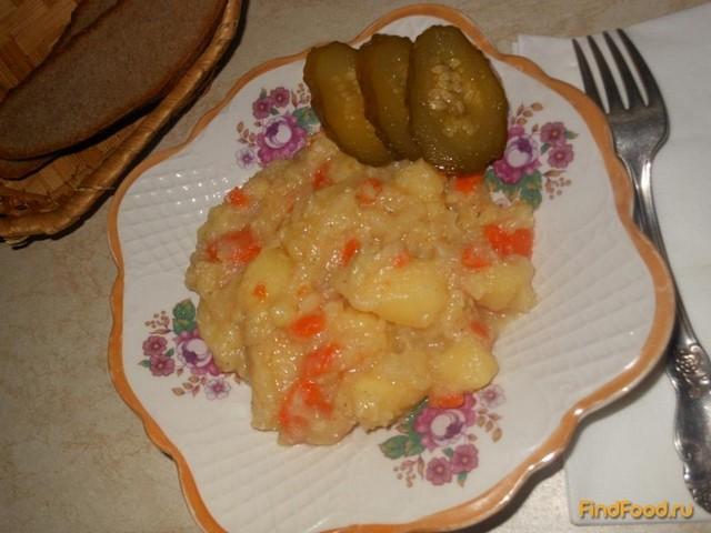 тушеная картошка в молоке рецепт с фото