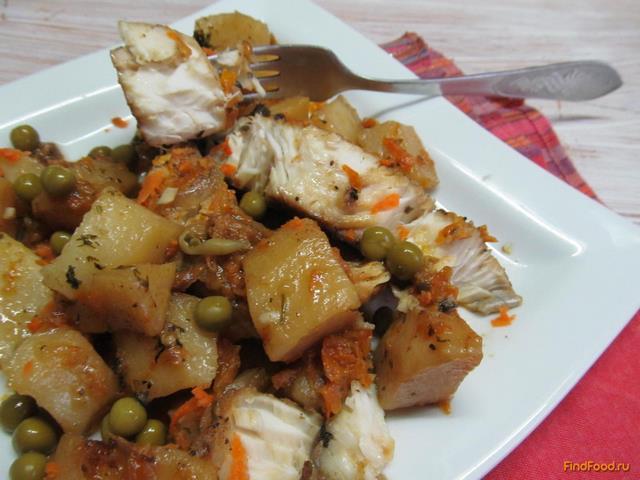 Рецепт Маринованная щука с овощами рецепт с фото