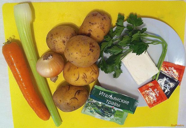 рецепт зеленого супа пюре с сухариками