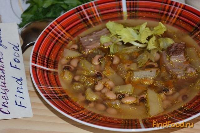 фасолевый суп говядина рецепт приготовления