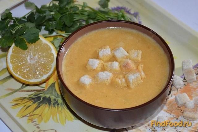 Рецепт Турецкий суп-пюре из красной чечевицы рецепт с фото