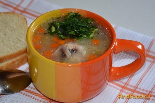 Рецепт Куриный суп по домашнему рецепт с фото
