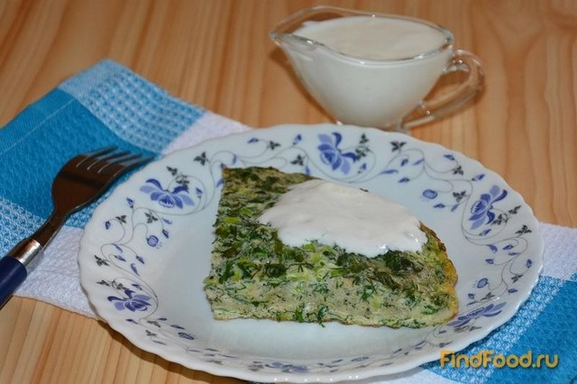 Рецепт Кюкю или омлет по азербайджански рецепт с фото