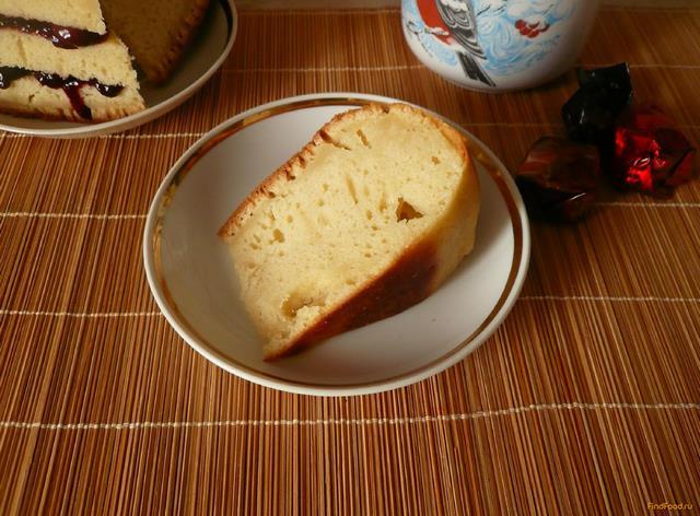Рецепт Йогуртовый пирог рецепт с фото
