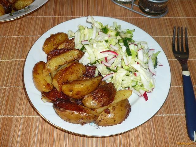 Рецепт Запеченный картофель рецепт с фото