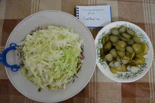 Суп с солеными огурцами рецепт с фото 3-го шага